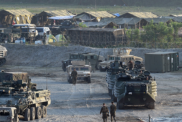 Philippines, US To Hold Military Drills