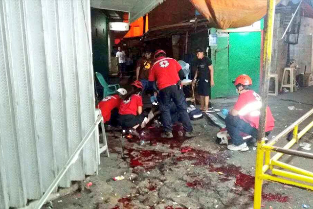 At least eleven individuals got injured on Saturday evening after a reported bombing in Quiapo, Manila. Sen. Richard Gordon, Twitter