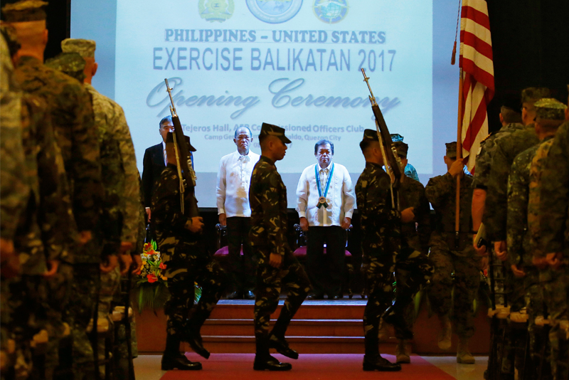 Philippines, USA Hold Military Drills
