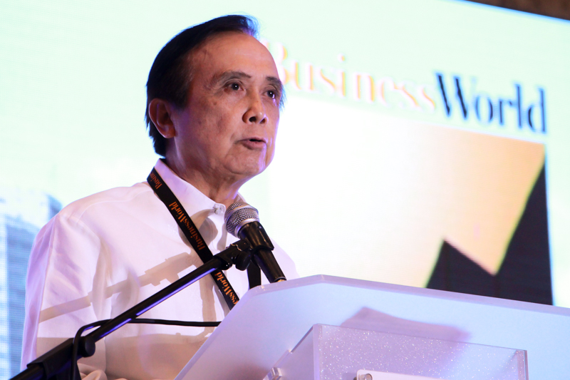 """""""The forecast is, it's going to be better than the second quarter. The outlook on the global economy has improved so exports are increasing. Our government spending has also been increasing double-digits,"""" he said. Philstar.com/Efigenio Toledo IV, File"""