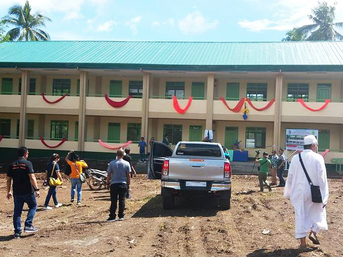 Five new school buildings in Basilan, including an Islamic learning facility, were inaugurated by ARMM officials early this week. Philstar.com/John Unson