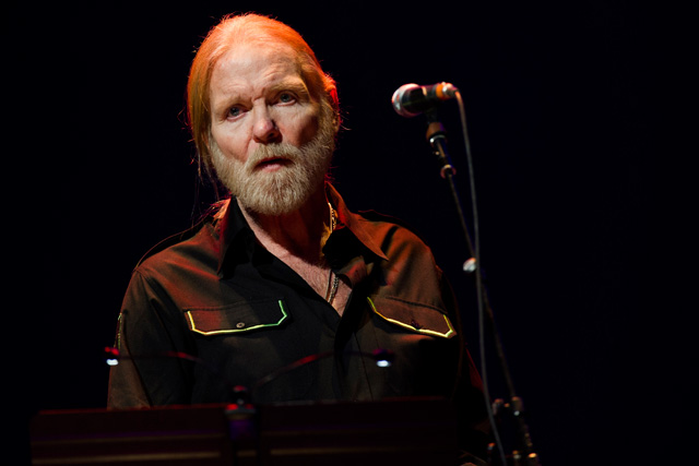 In this April 13, 2013 file photo, Gregg Allman performs at Eric Clapton's Crossroads Guitar Festival 2013 at Madison Square Garden in New York. On Saturday, May 27, 2017, a publicist said the musician, the singer for The Allman Brothers Band, has died. Photo by Charles Sykes/Invision/AP, file