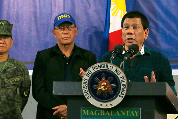 Duterte's martial-law edict legal, SC rules with finality