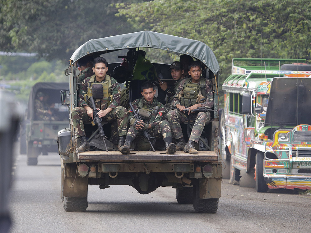 Lt. Gen. Carlito Galvez Jr., commander of Western Mindanao Command (Westmincom), said he wants to extend Martial Law in ARMM because of their assessment of the high level of acceptance of the people.AP/File