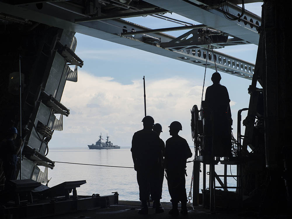 And Philippine Navies Complete Coordinated Patrol in Southern Sulu Sea | U.S