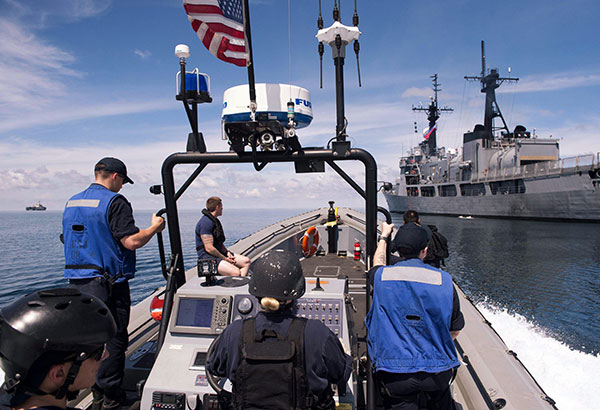 PH, US navies hold coordinated anti-piracy patrol in Sulu Sea