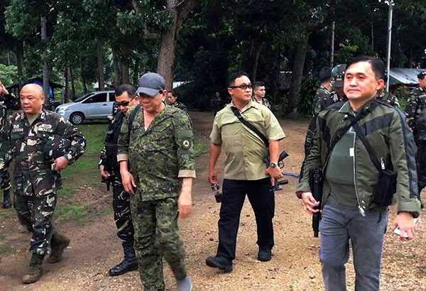 PHL's Duterte not yet lifting martial law before SONA