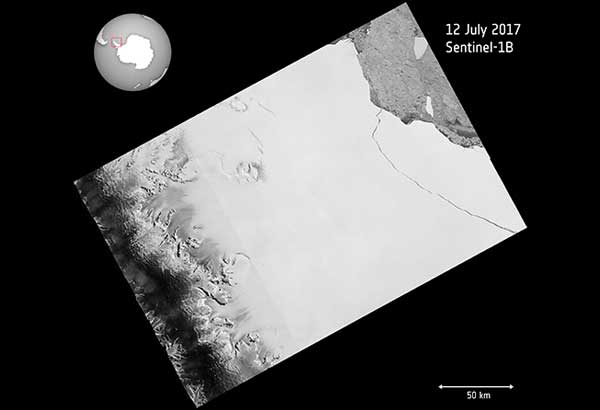 Scientists say massive iceberg has broken off in Antarctica