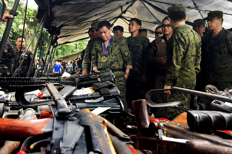 No more talks with NDF — Duterte