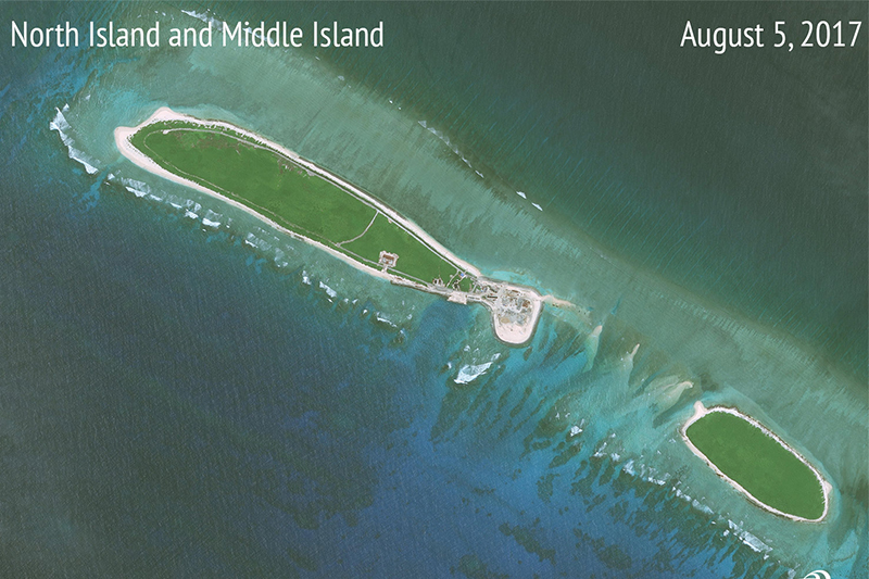 China vows to raise defence capabilities after United States  warship approaches Nansha Islands