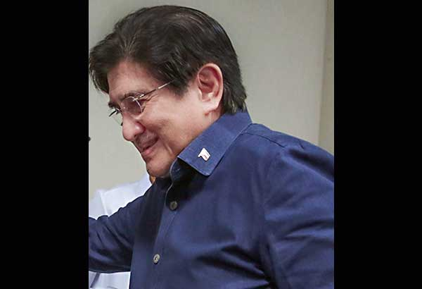 Honasan posts P60k bail on graft raps