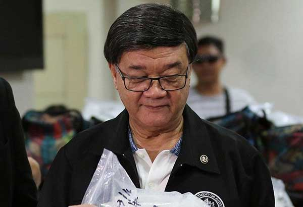 Justice Secretary Vitaliano Aguirre II announced in a press conference yesterday that the BIR has formed a five-member team to investigate possible violations of the National Internal Revenue Code by Bautista following charges of hidden wealth worth about P1 billion. AP/File