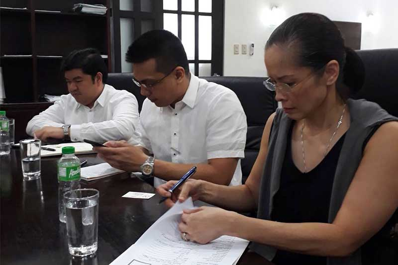 Patricia Bautista, estranged wife of Commission on Elections chair Andy Bautista, has been placed under provisional admission under the witness protection program. DOJ/Released