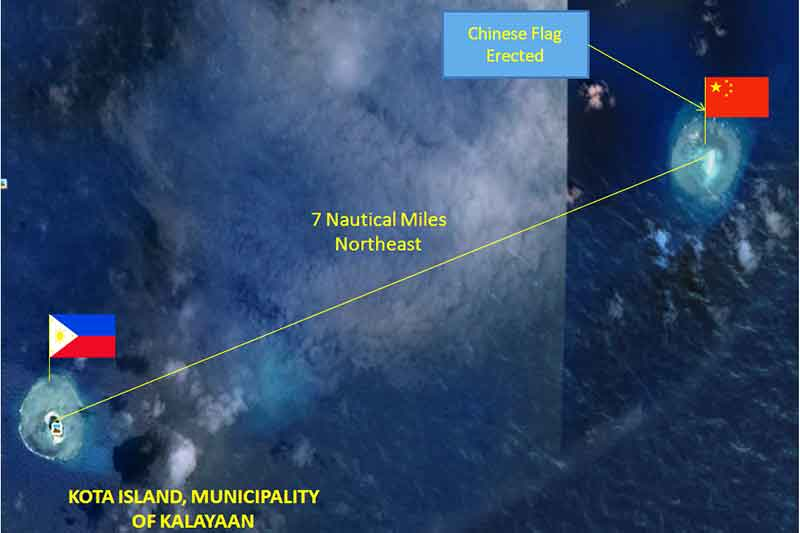 Chinese navy stalked Philippine area in South China Sea