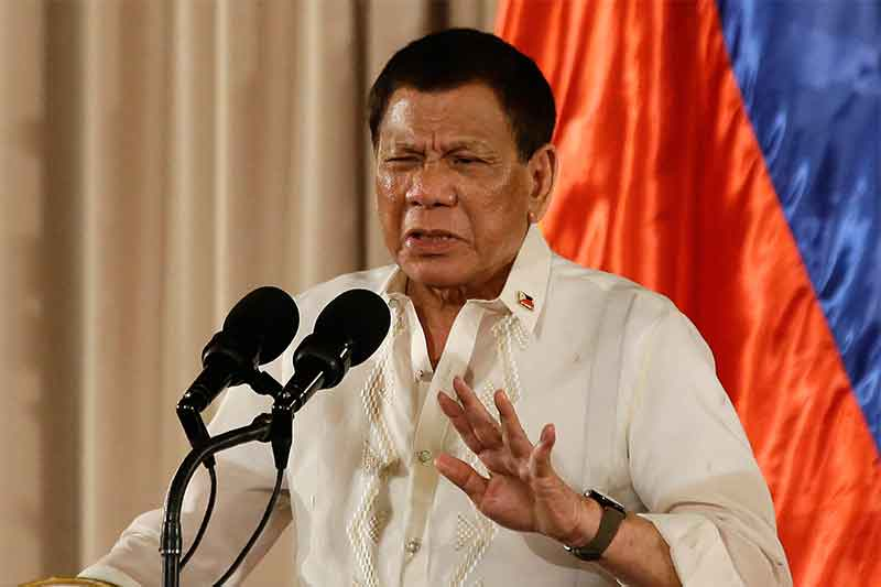 Duterte: China not invading Philippine territory