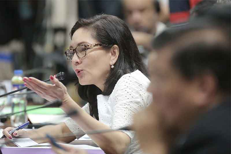 Sen. Risa Hontiveros said BBL is an institutional recognition of the justness and legitimacy of the cause of the Bangsamoro people. Senate PRIB
