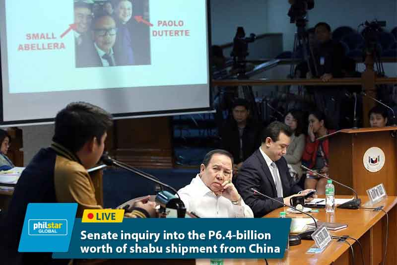 Duterte's sons grilled at Senate inquiry on drugs, payoffs