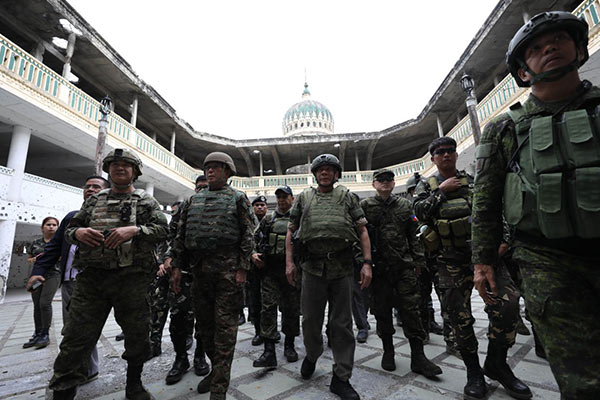 Duterte visits Marawi for the fourth time | Headlines ...