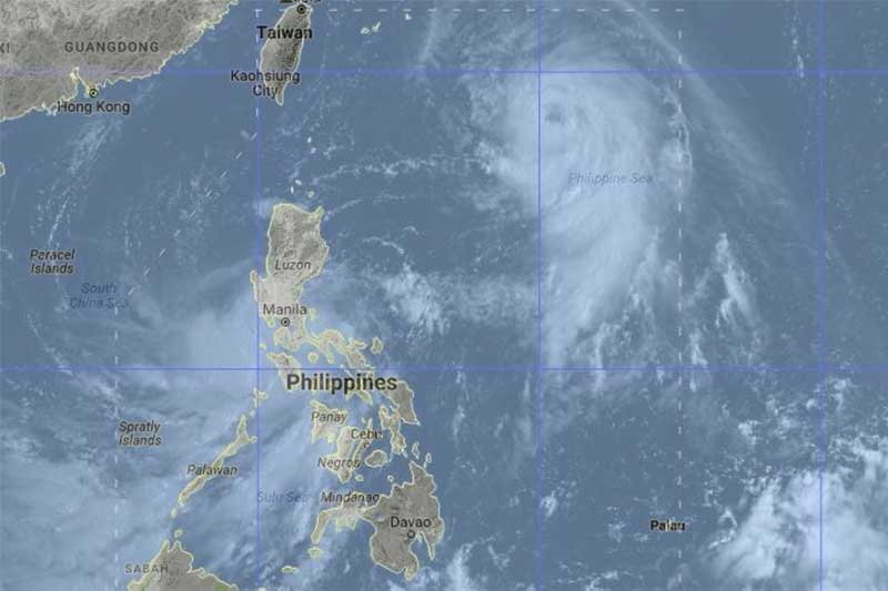 5 areas left under signal no. 1 as Maring exits land