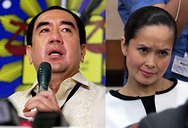 House rejects impeach rap vs. Bautista; Spouse Tisha to pursue plunder case