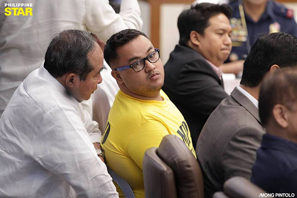 The raps involved 19 more respondents, which included primary suspect John Paul Solano and other Aegis Juris fratmen, charged with murder, robbery, obstruction of justice, perjury and violation of the Anti-Hazing Law last Oct. 4. STAR/Mong Pintolo, File