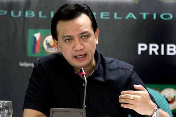 Palace hoping Trillanes did not spread lies in US