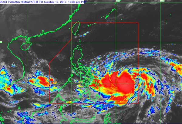 Paolo to bring rains to Bicol, Visayas, Mindanao, unlikely to make landfall