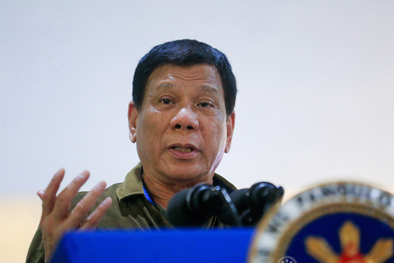 'If nobody dares, I'll pull the trigger': Philippine President warns criminals