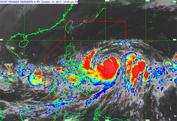 Typhoon Paolo moves toward Japan; LPA spotted off Occidental Mindoro