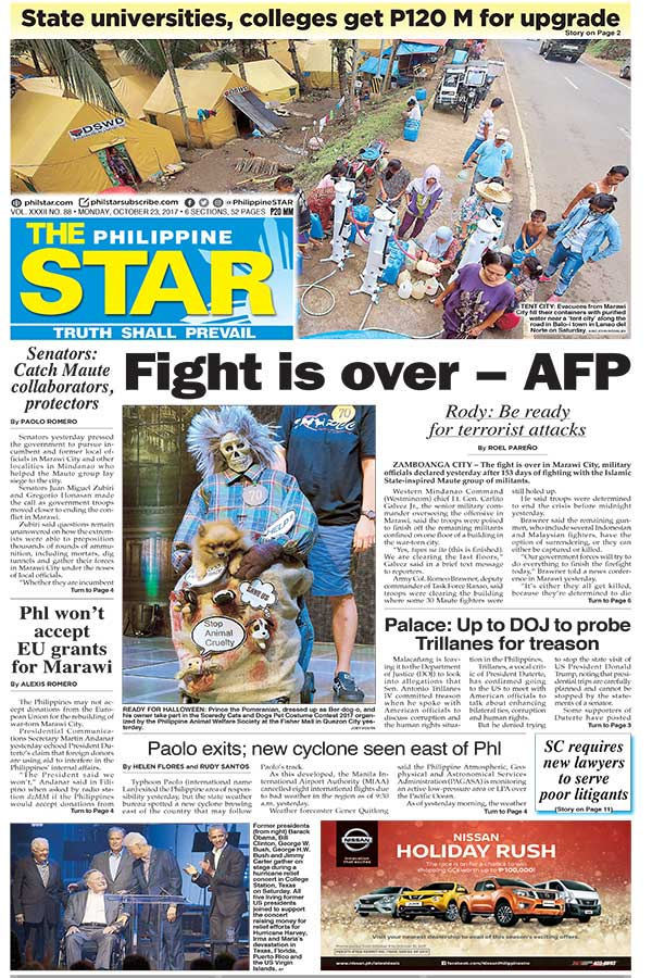 The Star Cover (October 23, 2017)