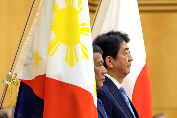 Philippines, Japan ink $6-B business deals