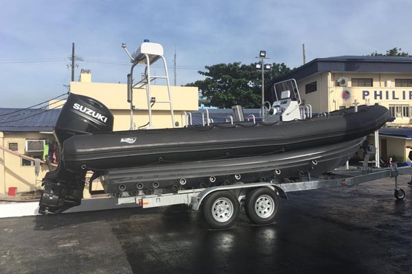 Japan has provided three rigid hull inflatable boats. The boats are 7.3 meters longs and can sail up to 45 to 60 knots per hour. The East Asian country will donate seven more boats in 2018. The STAR/ Evelyn Macairan
