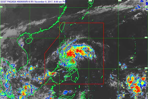 Storm Salome crosses West PH Sea