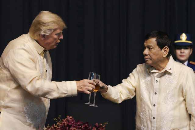 Donald Trump's Handshake In Manila Tops His List Of Most Bizarre Greetings