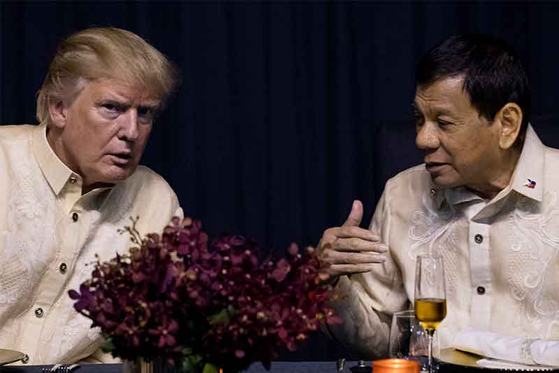 Dollars 2-M aid proves Trump's support to PH drug war: Palace
