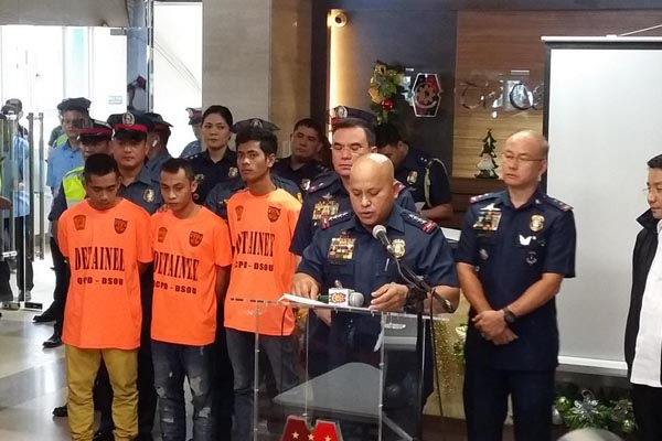 PNP arrests 3 Abus who attempted to terrorize ASEAN