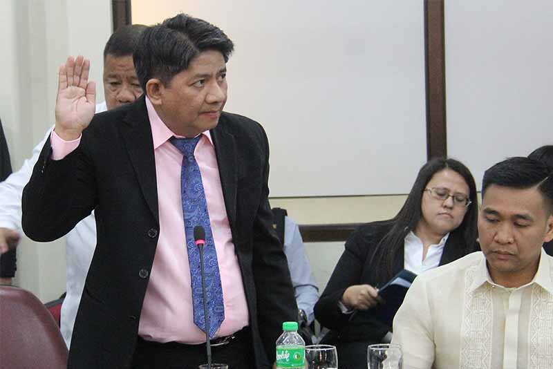 """Chief Justice Maria Lourdes Sereno camp described the threat as nothing but a """"psywar"""" tactic by Lorenzo Gadon and his supposed principals due to a weak impeachment case. Pantaleon Alvarez/Released, File"""