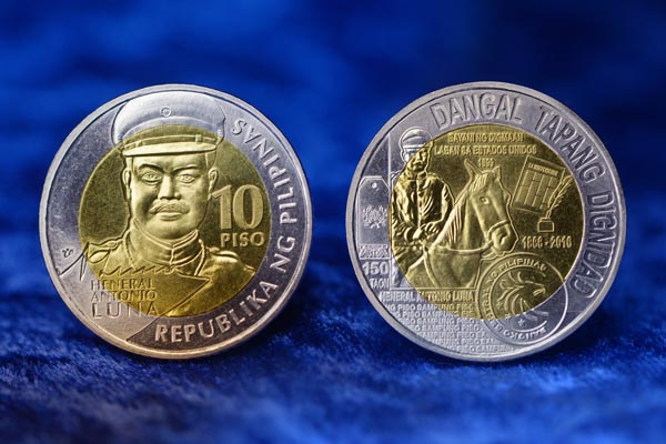 Barya O Salapi? Heneral Luna Coins Issued By BSP