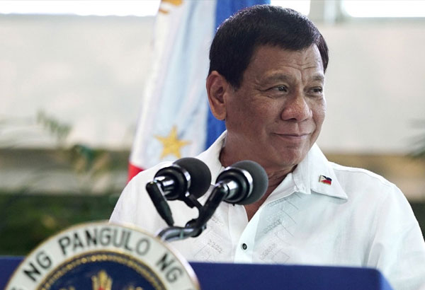 """President Rodrigo Duterte was labeled as the """"Joker,"""" with his card containing the quote """"(My doctor) said, 'Stop it. The first thing that you would lose is your cognitive ability... You are, you know, abusing (fentanyl)."""" PCOO/File"""