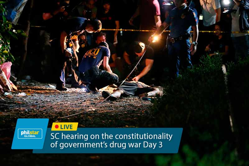 Duterte officially orders return of PNP to drug war