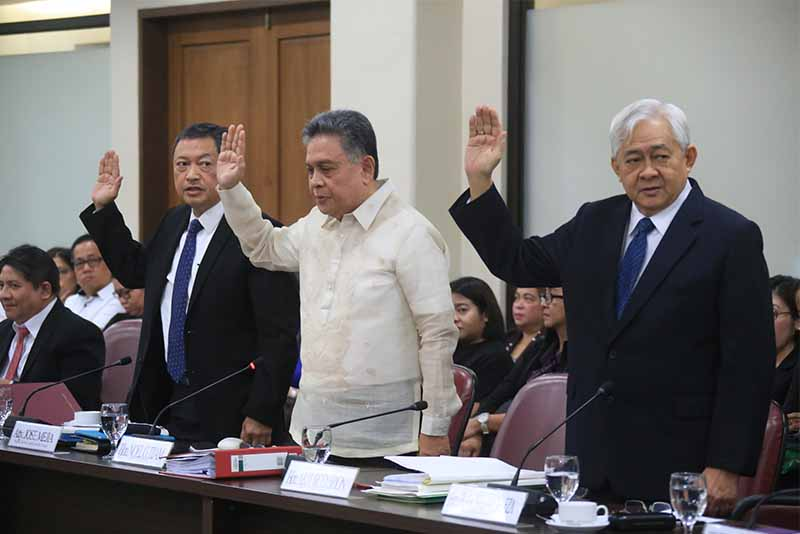 At Sereno impeachment hearing, divisions among justices go on full display