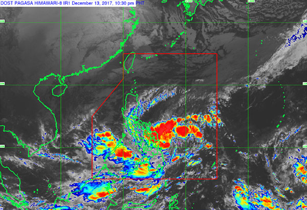 Rainy Wednesday as TD #UrdujaPH holds course, could become tropical storm