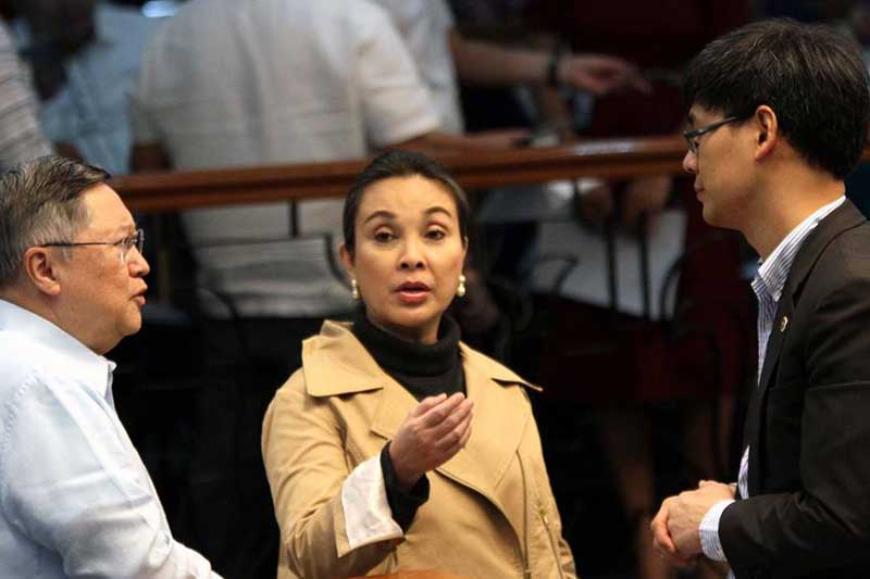 Sen. Loren Legarda is keen on finishing her term until 2019.Senate PRIB