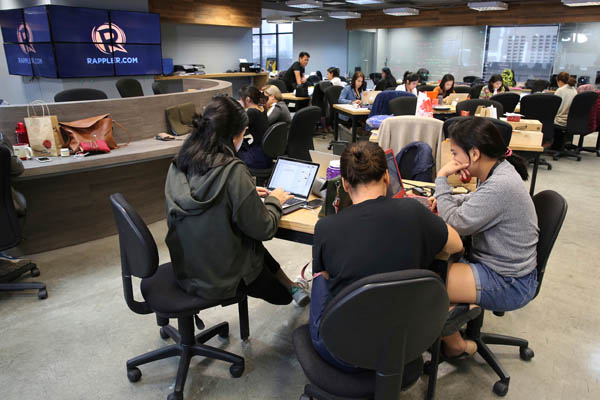 Justice SecretaryVitaliano Aguirre signed Department Order 17 Wednesday authorizing the NBI to conduct a case build-up against Rappler, two days after the Securities and Exchange Commission issued a ruling revoking its registration.AP/Aaron Favila