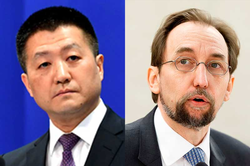 China defends Duterte: UN rights chief should respect Philippine sovereignty   Philstar.com
