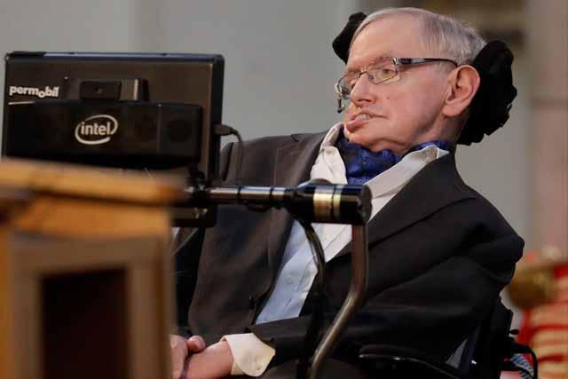 Stephen Hawking: 'His laboratory was the universe ... Stephen Hawking Dies