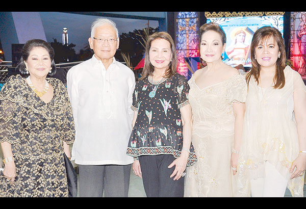 The Society for Cultural Enrichment Inc. (SCEI) board. (From left) Mimi Valerio, vice chairman Dr. Jimmy Laya, president Angola Consul Helen Ong, Elaine Villar and Eni Alba.