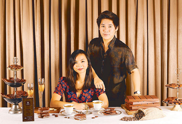 'Gold runners' Kelly Go and Mark Mendoza Ocampo, the two passionate individuals running Auro.