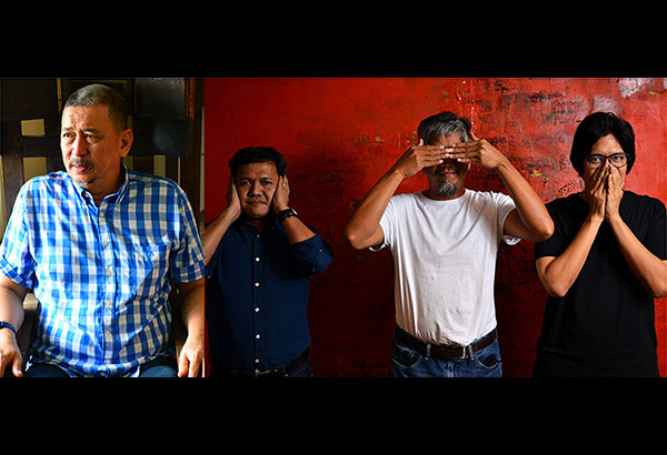 Art Fair Philippines commissions artists to mount installations that give the fair a special identity each year. Jose Tence Ruiz is one of the featured artists for the 2017 lineup, along with the trio of Elmer Borlongan, Manny Garibay and Mark Justiniani.