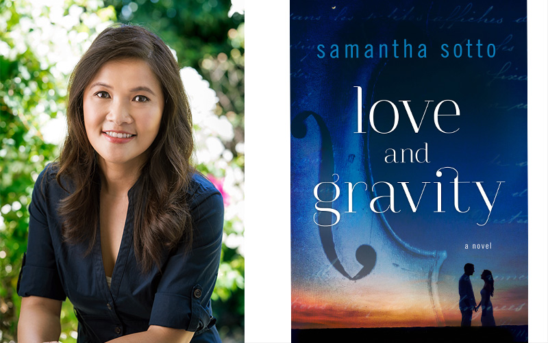 "Locally-based, best-selling author Samantha Sotto recently launched her second book, ""Love and Gravity,"" about the imaginary love story of English physicist Isaac Newton. Photo release"